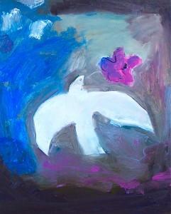 Purple poppy_dove 2