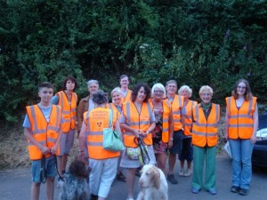 Wounded Badger Patrol 24th July 2013