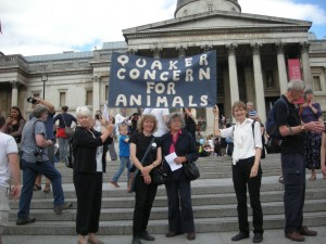 From the left: Ann Johnson of Sussex East AM, Judith Campbell, Muswell Hill, Gemma,  Chichester, and Julie Hinman, Worthing.