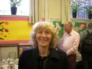 Judith Wilkings QCA member in Muswell Hill Meeting