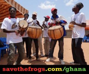 in Ghana...